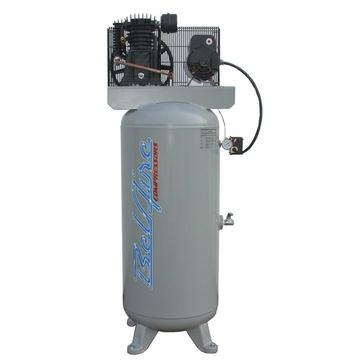 Belair Electric Air Compressor 5hp 60g Vertical 2 Stage