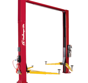 Challenger Versymmetric Two Post Car Lift 10,000 lb LE10
