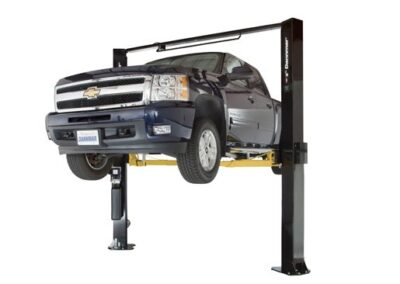 Dannmar D-10 / ACX Asymmetric Clearfloor Two Post Lift  10,000 lb Capacity