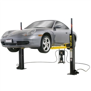 Dannmar MaxJax™ Portable Two Post Car Lift 6,000 lb Capacity