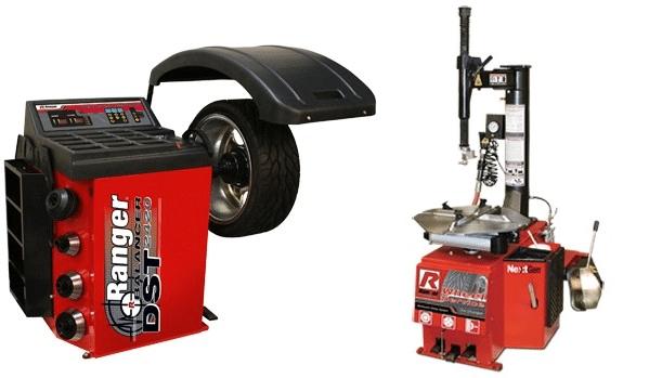 Ranger Tire Changer Dynamic Wheel Balancer Combo R980XR DST2420