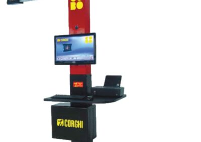 CORGHI Exact Linear Camera Wheel Alignment Technology