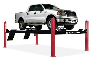 Challenger Extended Closed Front Four Post Car Lift 14,000 LB 4P14XFX