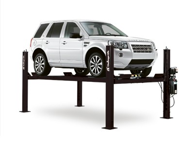 Challenger Extended Wide Four Post Storage Car Lift 9,000 LB CL4P9W