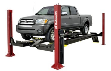 Challenger Four Post Extended Open Front Car Lift 4015XFO 15,000 LB. Capacity