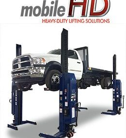Challenger Heavy Duty Mobile Column Lifting System CLHM-185-4 HD