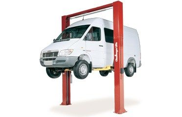 Challenger Symmetric Heavy Duty Two Post Lift Extended Height CL12-1