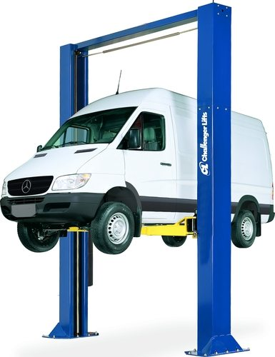 Challenger Symmetric Heavy Duty Cargo Two Post Lift Extended Height CL 15002-3S