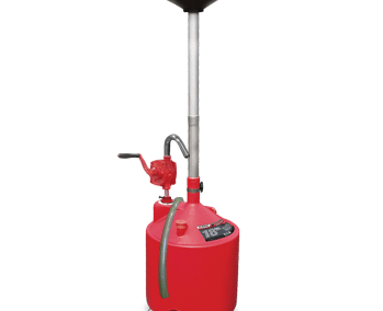 Ranger Portable Oil Drain With Pump Drain Valve RD-18G