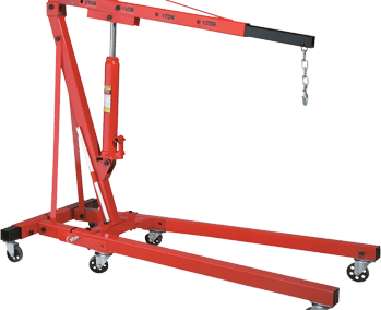 Ranger Two Ton Folding Shop Crane RSC-2TF