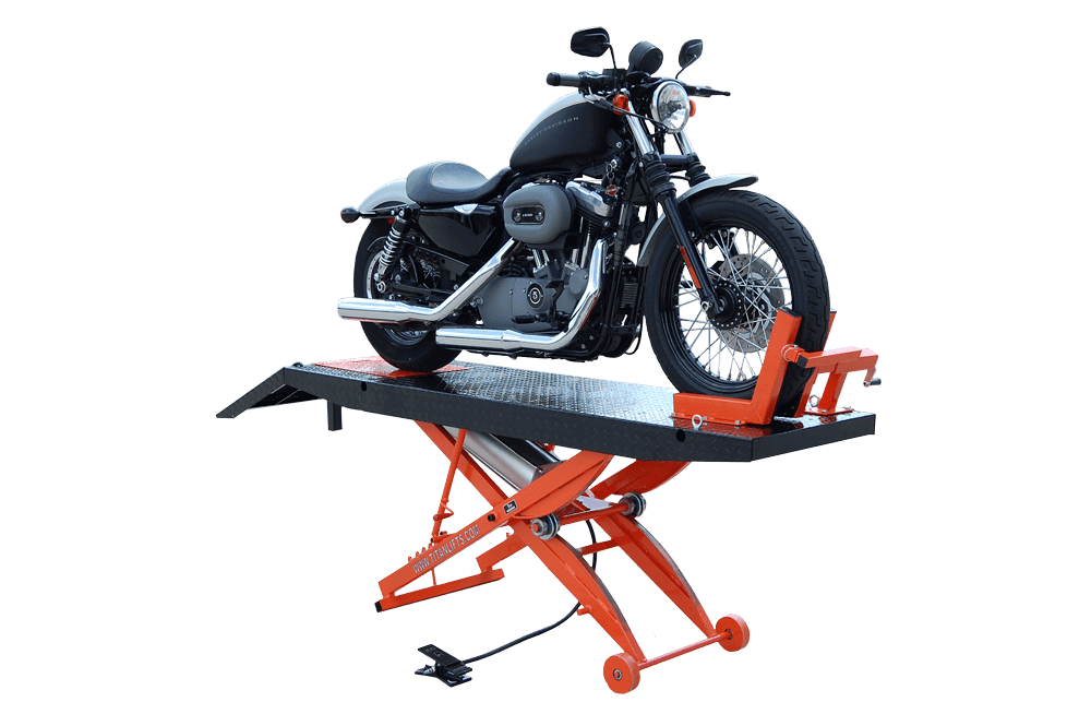 Titan SDML-1000D Motorcycle Lift